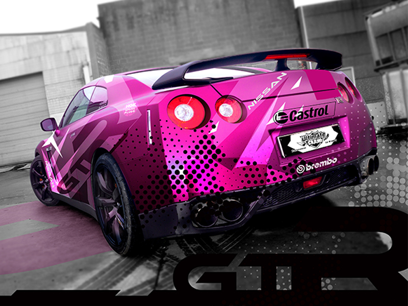 Covering car wrapping véhicule voitureBC Signature Graphiccenter tournai mons peruwelz